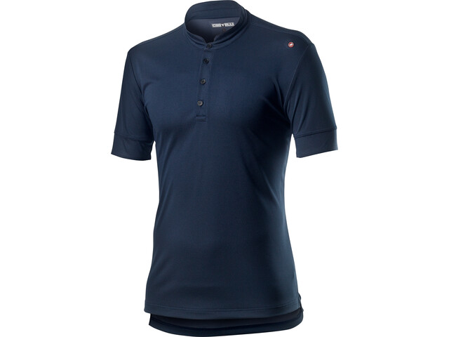 Castelli Tech Polo Men dark infinity blue